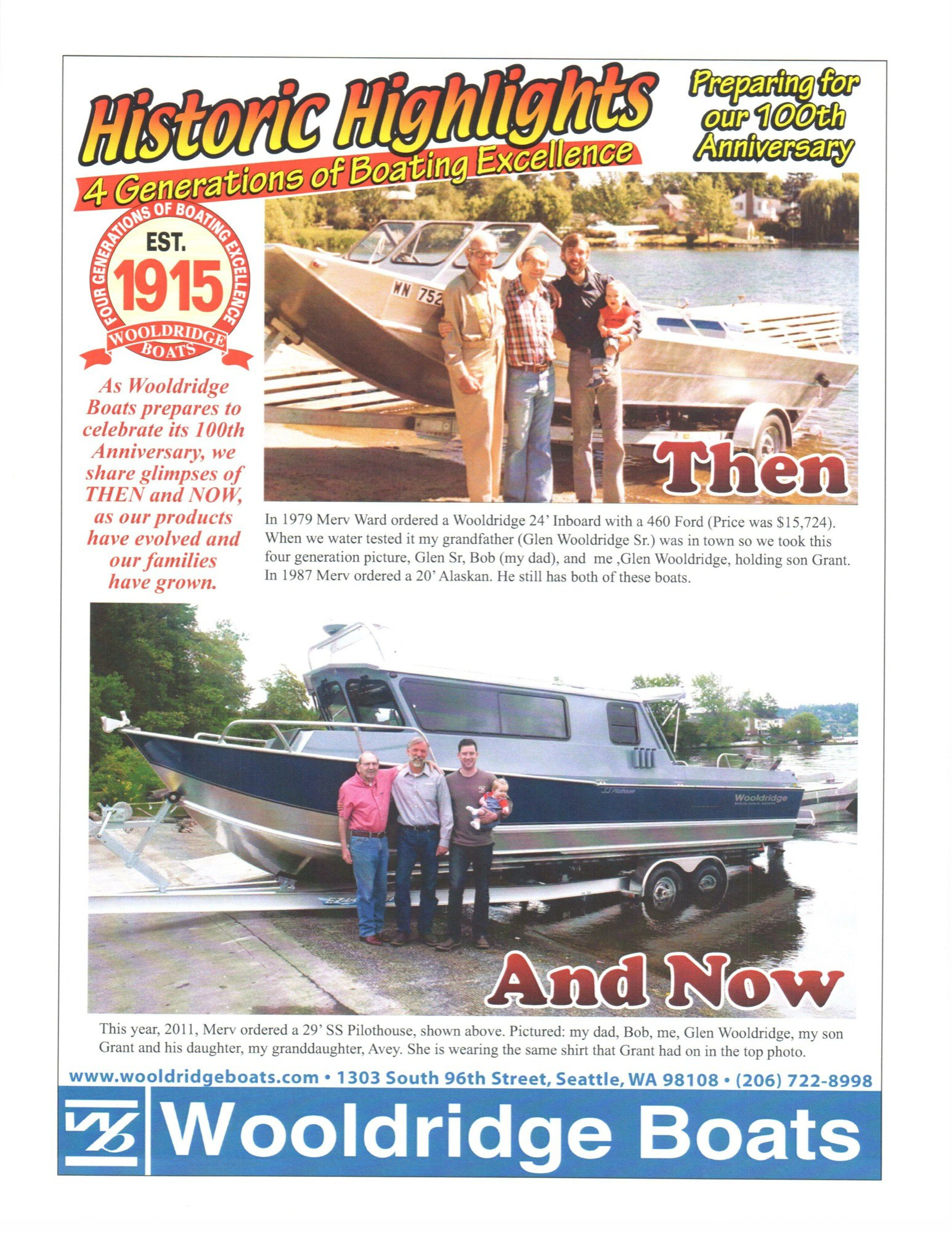 The Family Grows… With Wooldridge Boats - April Vokey